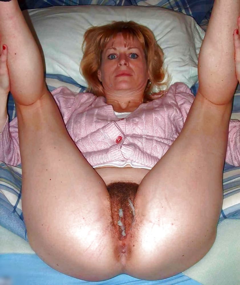 Grandma creampies mature pussies..