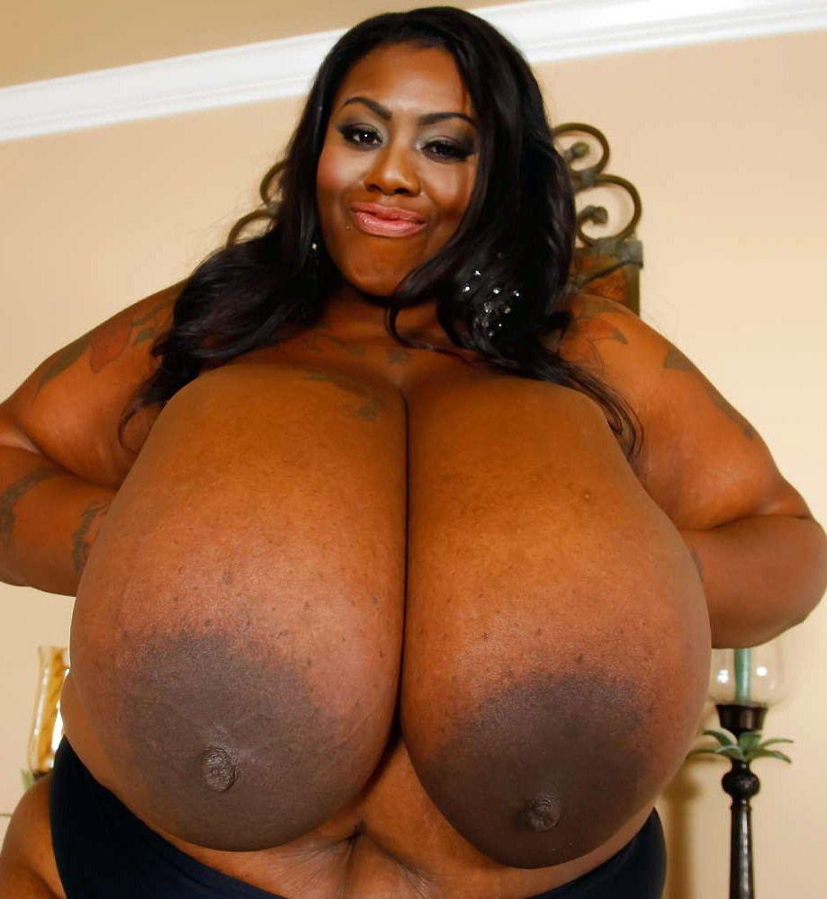 Impressively enormous ebony..