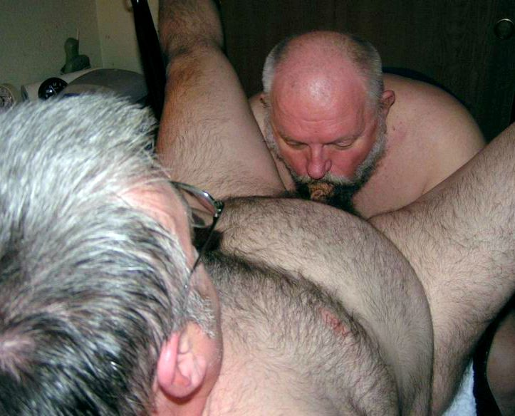 Mature fag  in steamy oral..