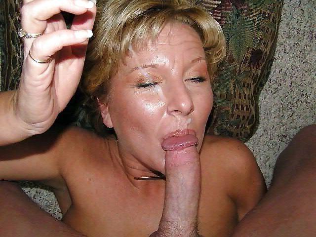 Unexperienced close-up blowjob,..