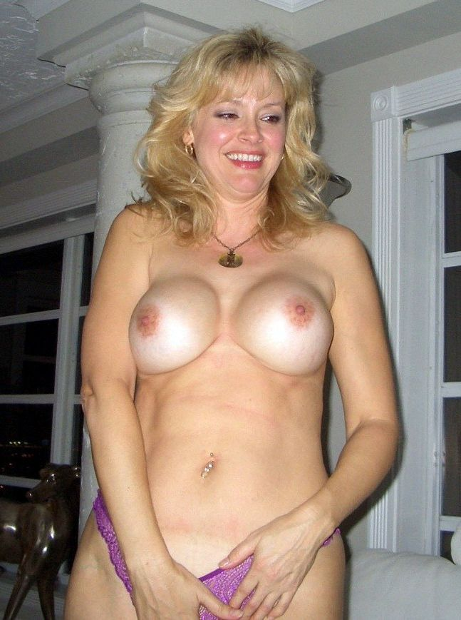 Lonely ex gf with ample innate boobs..