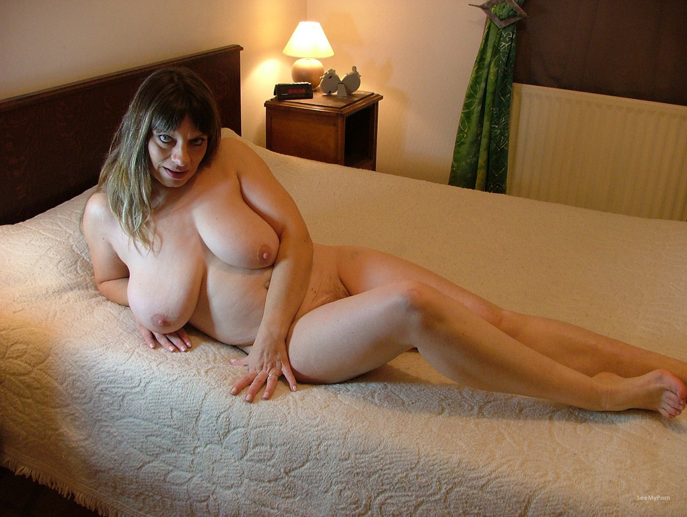French gorgeous mummy with ginormous..
