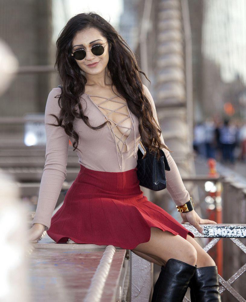 Japanese model Amna in Fresh York,..