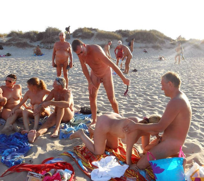 Mature gals nudists and beach drilling..
