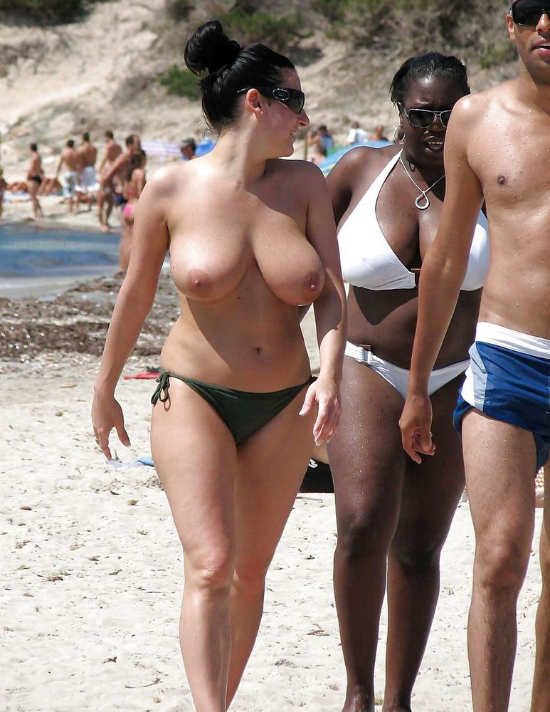 Hidden camera on the naturist beach