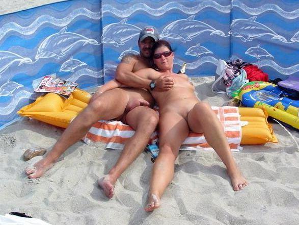 Insatiable sex on the naturist..