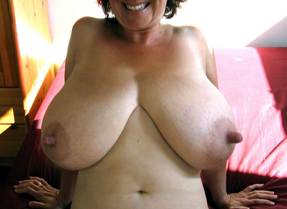 Mature globes with gigantic puffies..