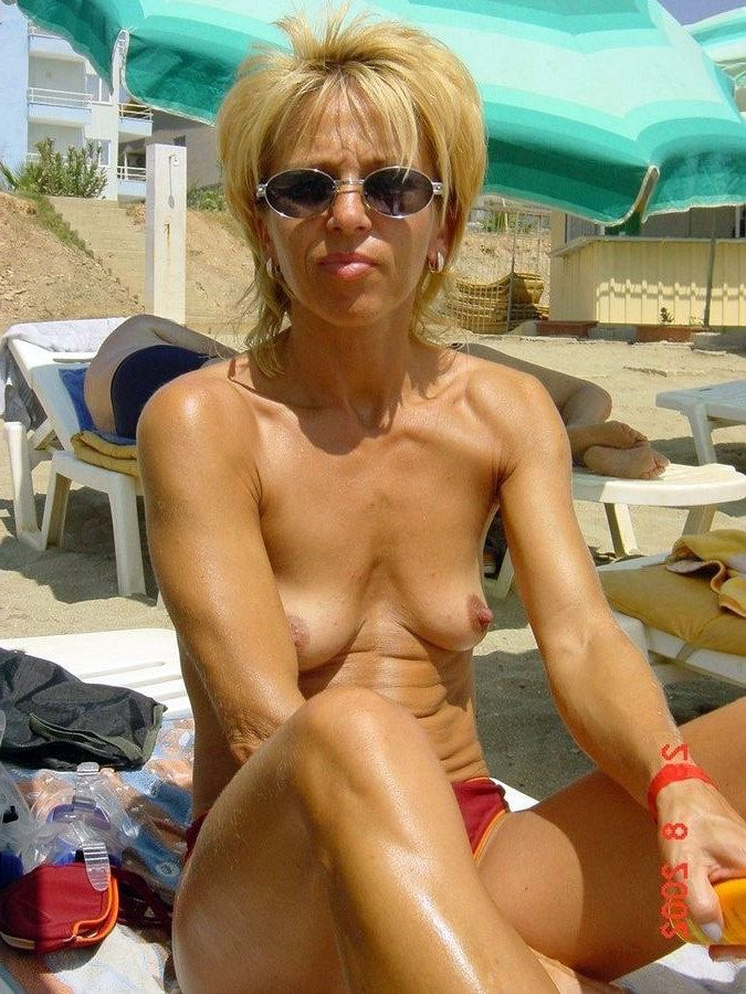 Mischievous nude mature femmes nudists..