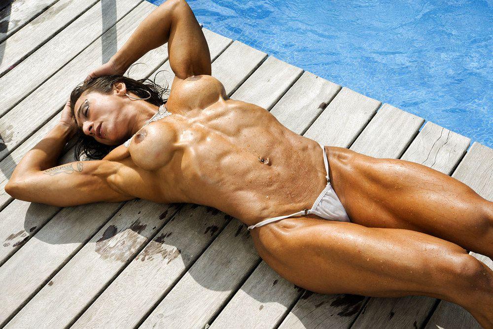 Naked Karyn Bayres first-timer..