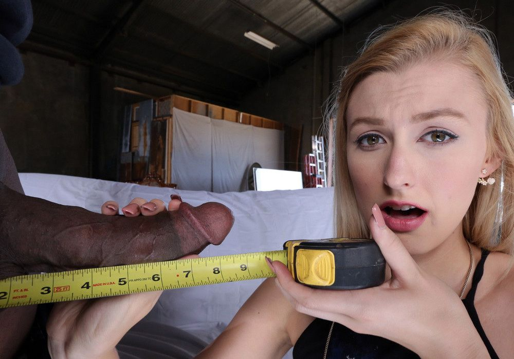 Alexa Mercy suck Big black cock and..