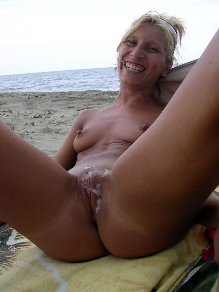 Cream-colored mature pussy,  breezies..