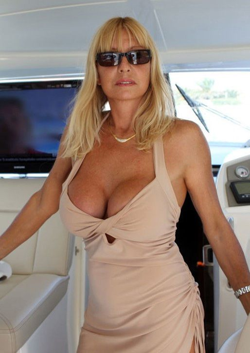 French mature adult movie star Colette..