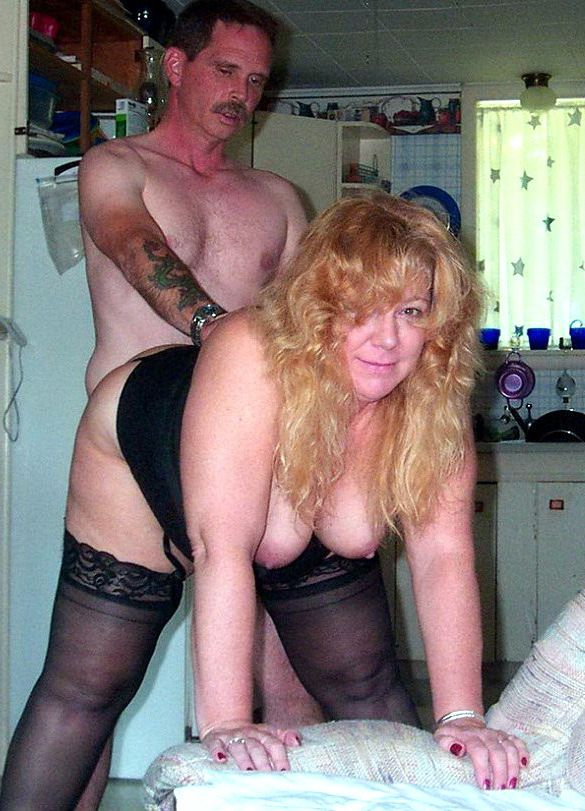 Flabby mature wives gargling..