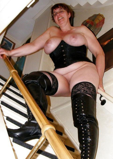 Super-naughty mature femmes with naked..