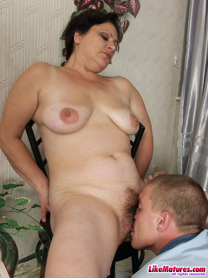 Fur covered vulva Mummy pounded at..